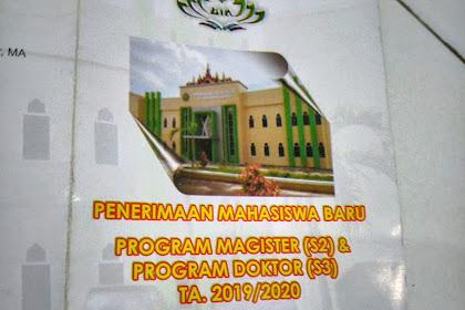 Biaya Kuliah Pasca Sarjana S2/S3 UIN Lampung Terbaru dan Program Studi