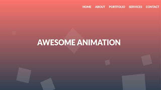 Animated Background HTML CSS