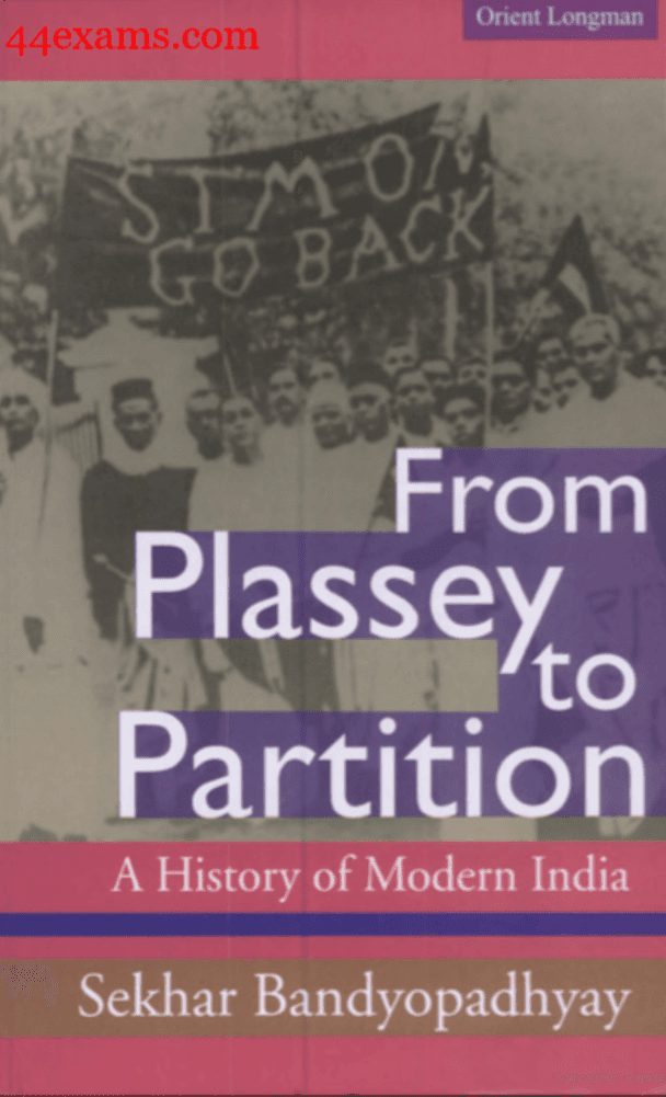 History-of-Modern-India-by-Sekhar-Bandyopadhyay-For-UPSC-Exam-PDF-Book