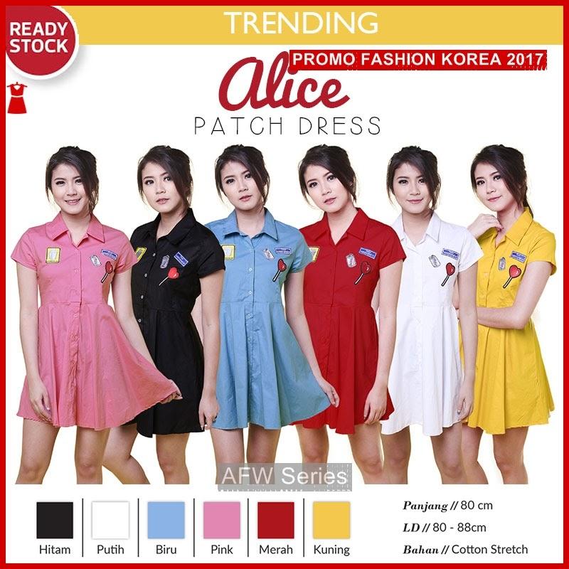 BAMFGW040 Alice Dress Gaun Wanita PROMO BMG