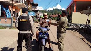 TNI Polri Dan Satpol PP Enrekang Terus Giatkan Oprasi Yustisi Dalam Melawan Covid 19