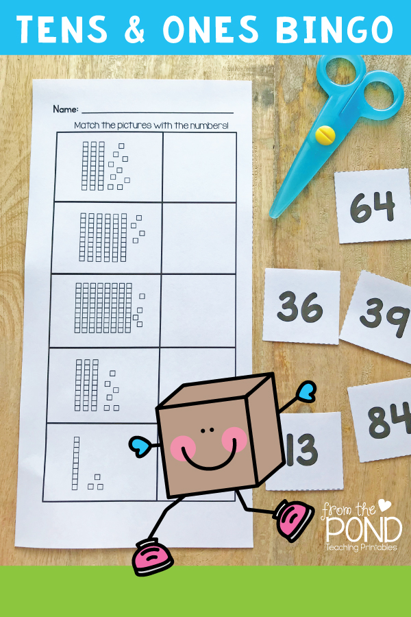 Tens and Ones Place Value Math Game