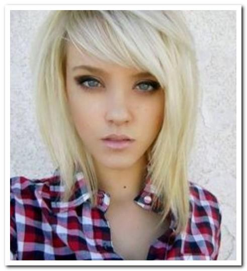 Model Rambut Layer untuk Wajah Segitiga