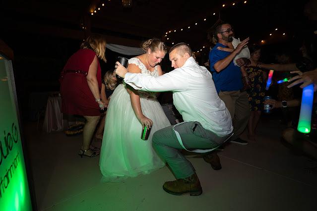Going low dancing Magnolia Manor Wedding Photos by Stuart Wedding Photographer Heather Houghton Photography