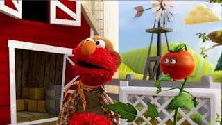 Sesame Street Elmo The Musical Tomato the Musical