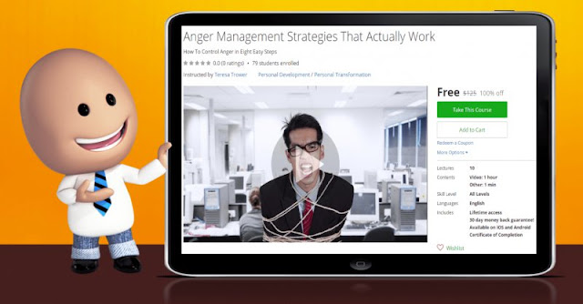[100% Off] Anger Management Strategies That Actually Work| Worth 125$