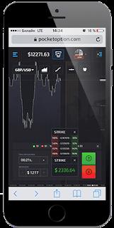 Pocket Option - мобильная торговля