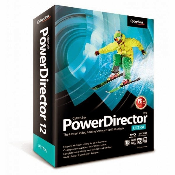 Cyberlink Powerdirector 12 Image