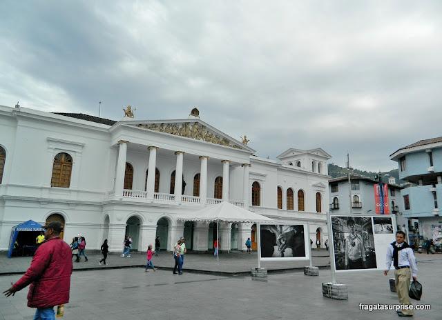 Teatro Nacional Sucre, em Quito, Equador