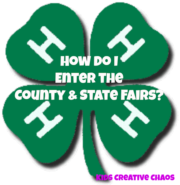 How to Enter Indiana State Fair: County 4 H Fair