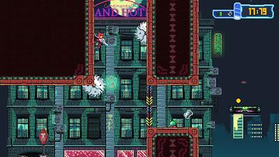 Aeon Drive Game Screenshot 1