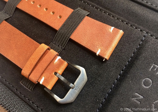 Eoniq Alster custom automatic cognac strap