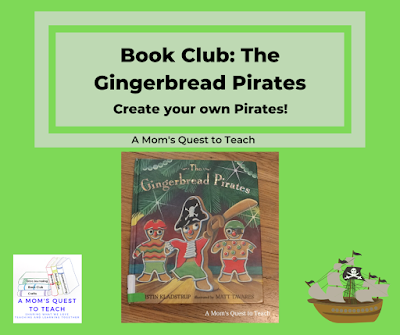 cover of The Gingerbread pirates and pirate clipart