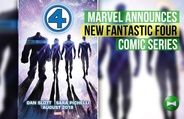 Marvel welcomes Fantastic Four back to publication