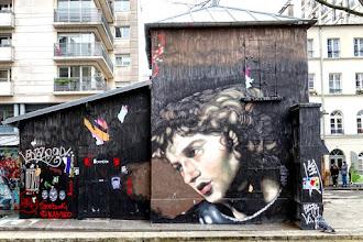 Sunday Street Art : Andrea Ravo Mattoni - Festiwall au fil de l'Ourcq - quai de la Loire - Paris 19