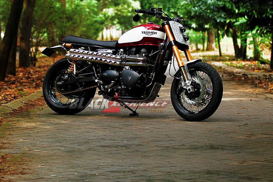 Modifikasi Motor Triumph Bonneville