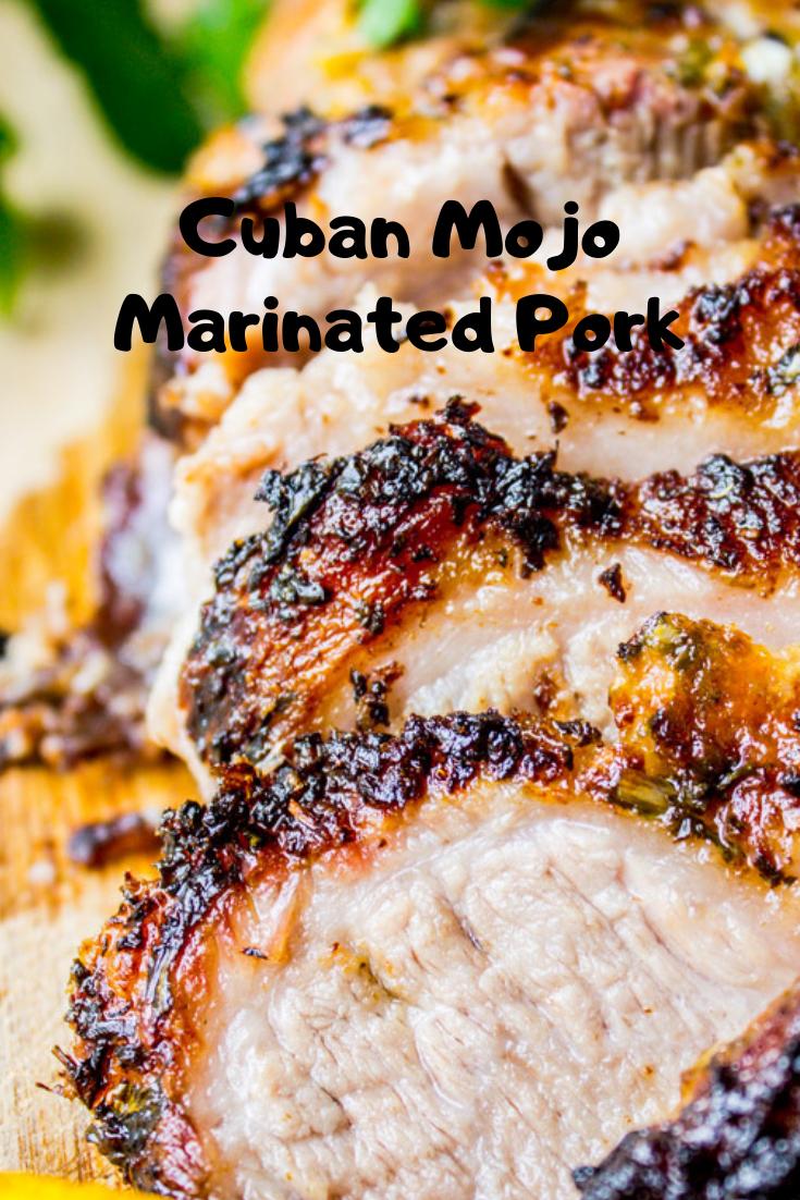 #Cuban #Mojo #Marinated #Pork #Dinner #Easyrecipe