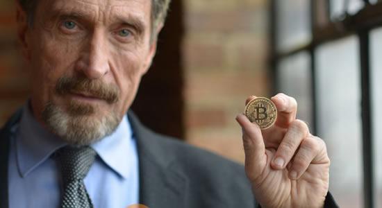 John McAfee oferece US$100 mil para quem hackear sua carteira de Bitcoin