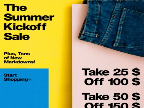 American Apparel Summer Kickoff Sale Up To $75 Off