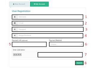 Register Your Hulk upload Account