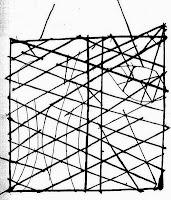 Una carta nautica tradizionale