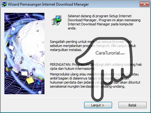 Wizard instalation IDM