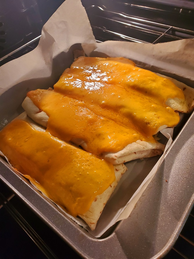 these are chicken enchiladas