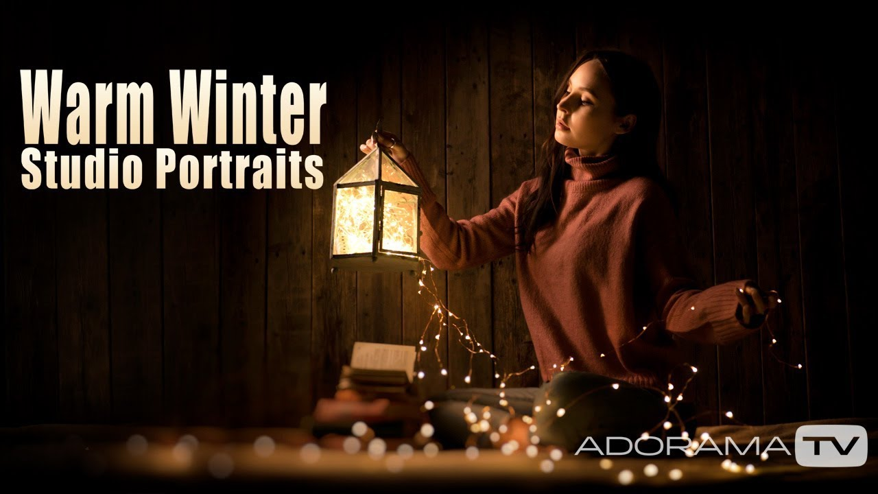 Warm Winter Studio Portraits by Gavin Hoey