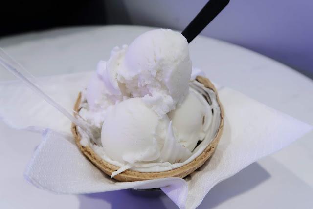 Coconut Ice Cream @ Sangkaya, Banting