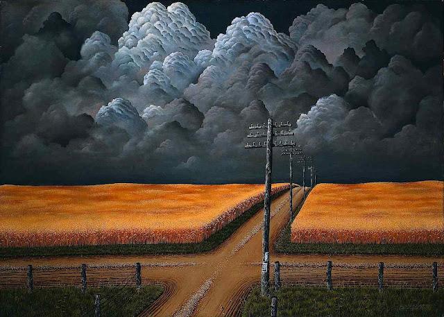 John Rogers Cox art 1942 crossroads