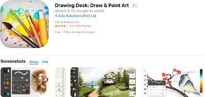 aplikasi ipad untuk menggambar