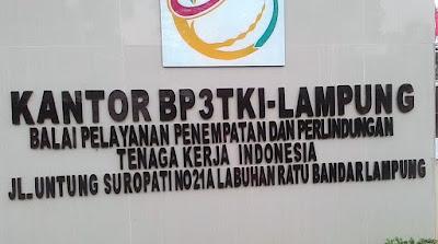Alamat Lengkap Kantor-kantor BP3TKI Dan LP3TKI Di Seluruh Indonesia