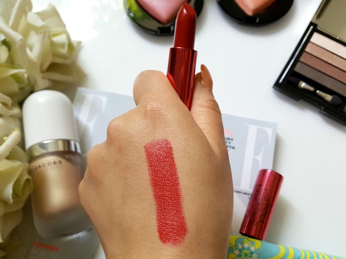 Swatch: Dahlia 100% Pure - Fruit Pigmented Pomegranate Oil Anti Aging Lipstick - $ 29.00