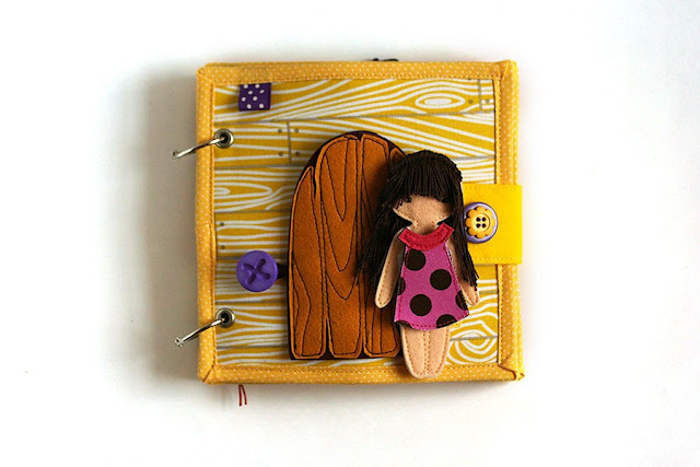Little Dollhouse quiet book
