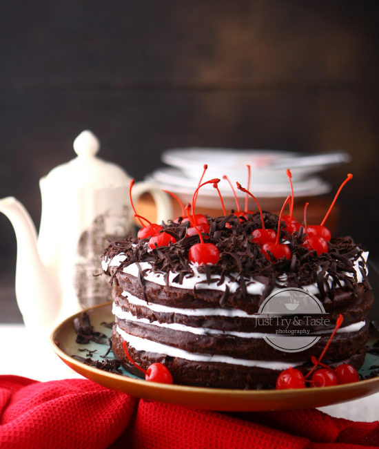 Resep Moist Black Forest Cake