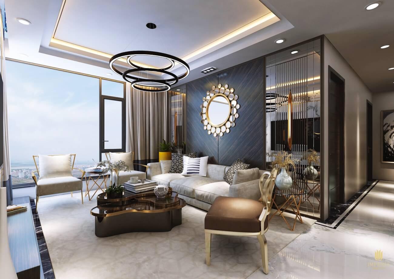 Nội thất căn hộ cao cấp Imperia Smart City