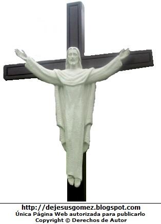 Imagen de Jesús con las manos extendidas en la cruz. Foto de Jesús por Jesus Gómez