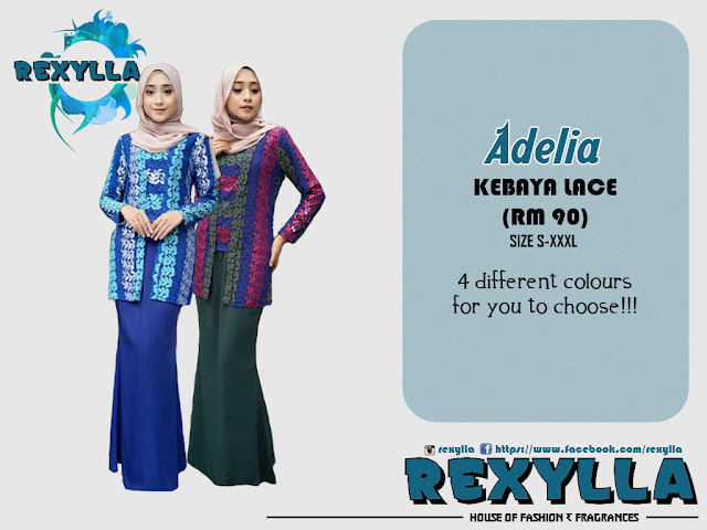 rexylla, kebaya, kebaya lace, kutu baru, adelia collection