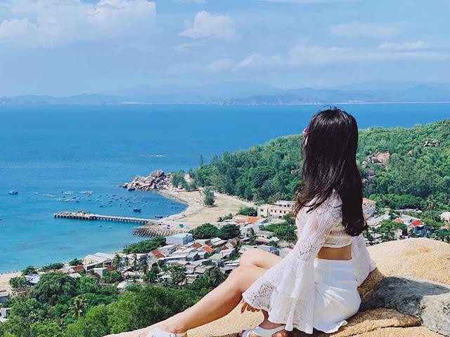 Check-in Cù Lao Xanh Quy Nhơn 01