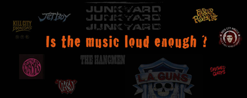 Is the music loud enough ?