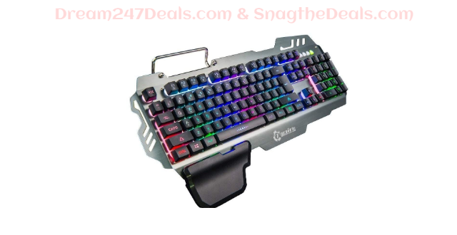 TAPCET LED Backlight Gaming Keyboard  30.01% OFF