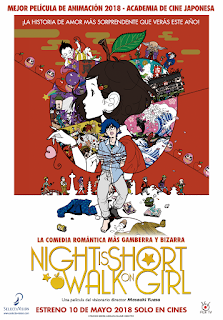 NIGHT IS SHORT WALK ON GIRL de Masaaki Yuasa
