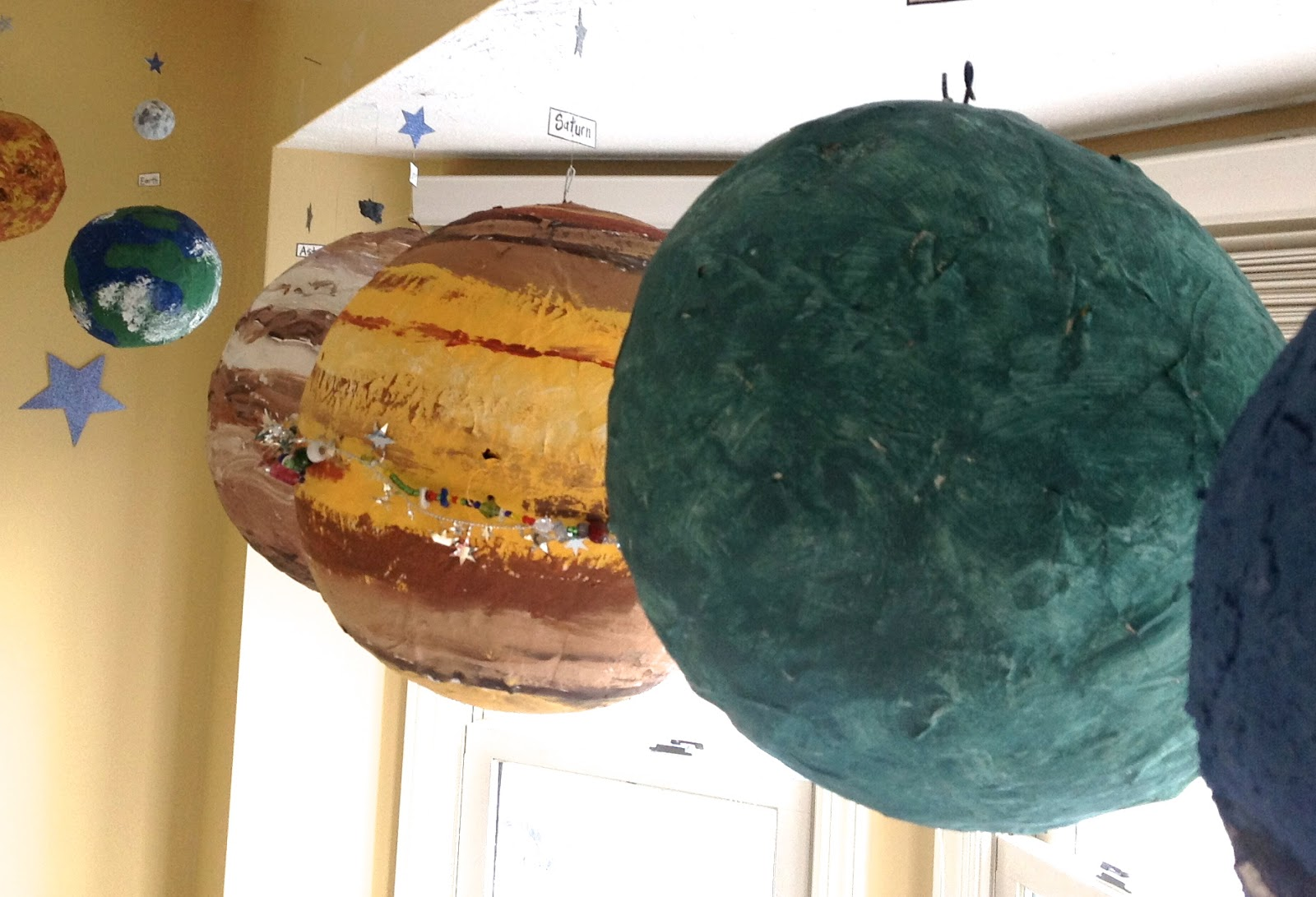 paper mache planets solar system-#20