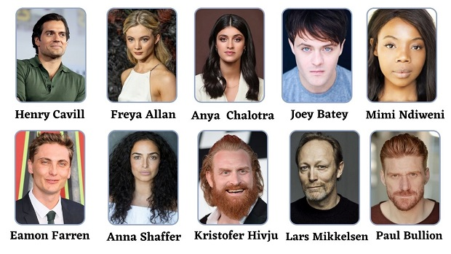 The Witcher Season 2 Cast