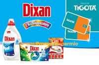 Logo Tenta la fortuna con Dixan e L'Acchiappacolore: vinci 1200 Gift Card Tigotà