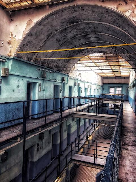 Shepton Mallet Prison spooky