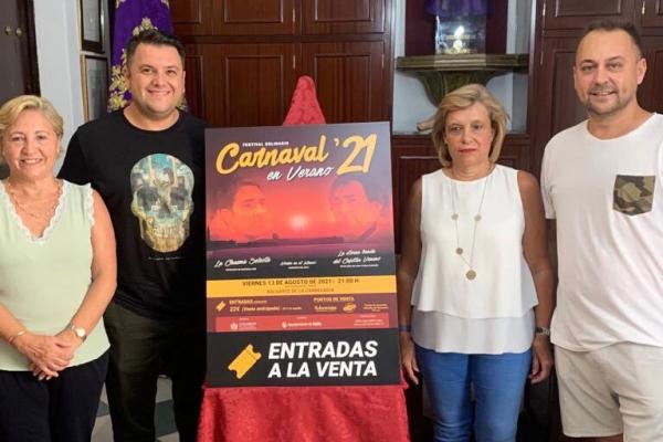El Festival 'Carnaval en Verano 2021', mañana viernes con todo el papel vendido