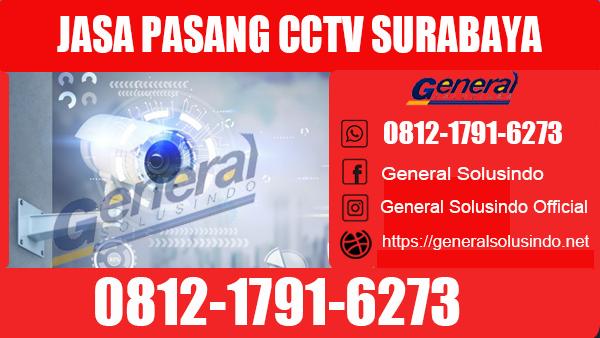 Jasa Pasang CCTV Dukuh Pakis Surabaya