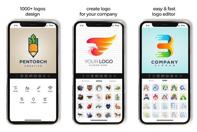 أفضل تطبيق لتصميم الشعارات للايفون