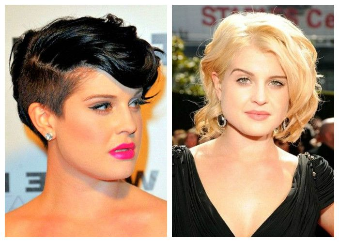 Short haircuts for obese women